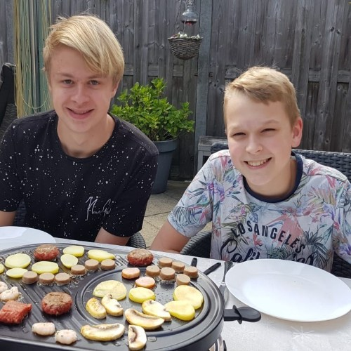 #18 Justin en Julian