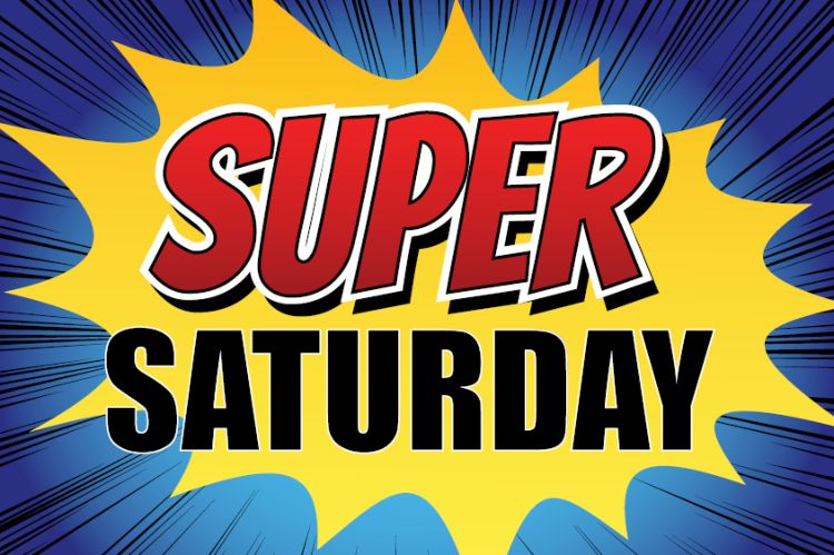Programma week 1: Super Saturday
