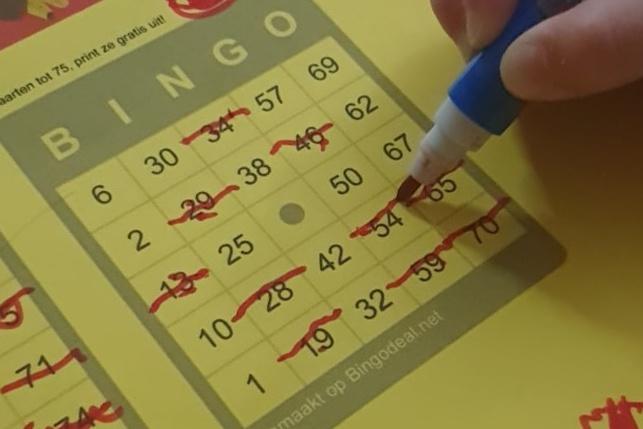 Bingo om de knikkers