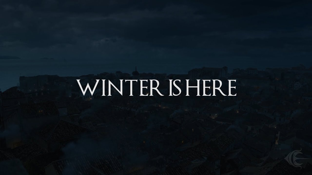 """""""Winter is here"""""""