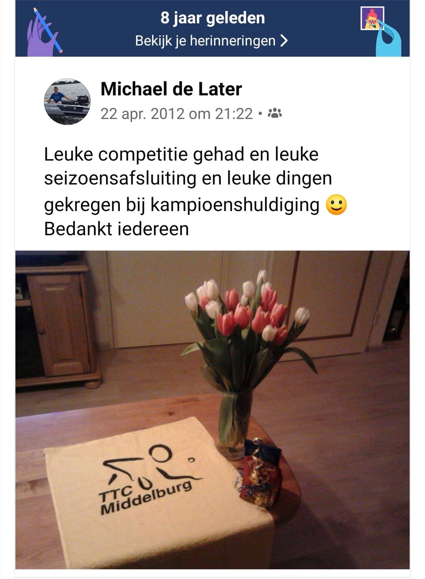 21 Michael – TTC Middelburg
